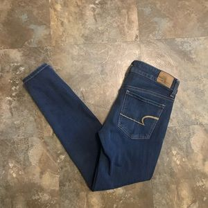 AE size 4 SHORT Jegging super stretch x4 Jeans